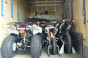 Trasporto moto, quad, prototipi...